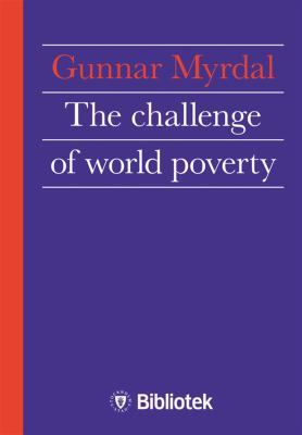 The challenge of world poverty